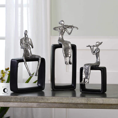 Uttermost Home Musical Ensemble Figurines, S/3