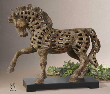 Uttermost Home Prancing Horse Sculpture