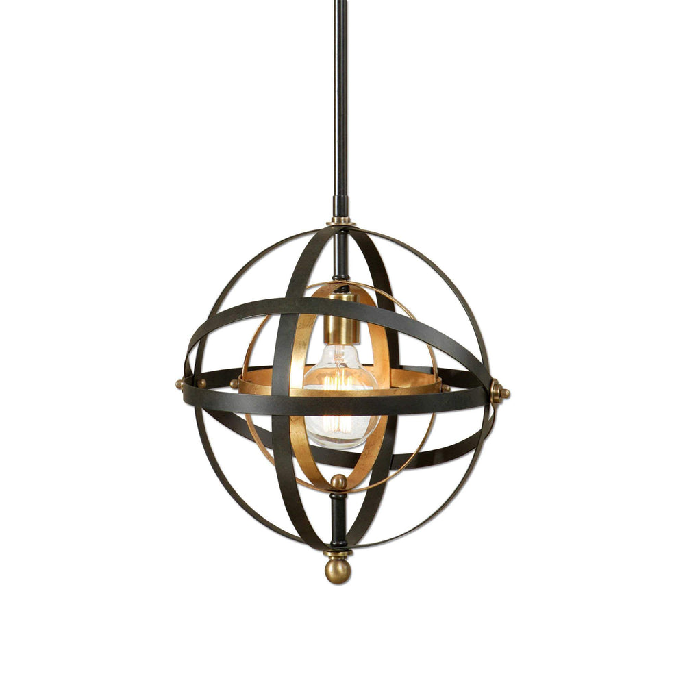 Uttermost Lighting Rondure, 1 Lt Mini Pendant