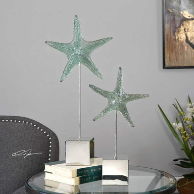 Uttermost Home Starfish Sculpture, S/2