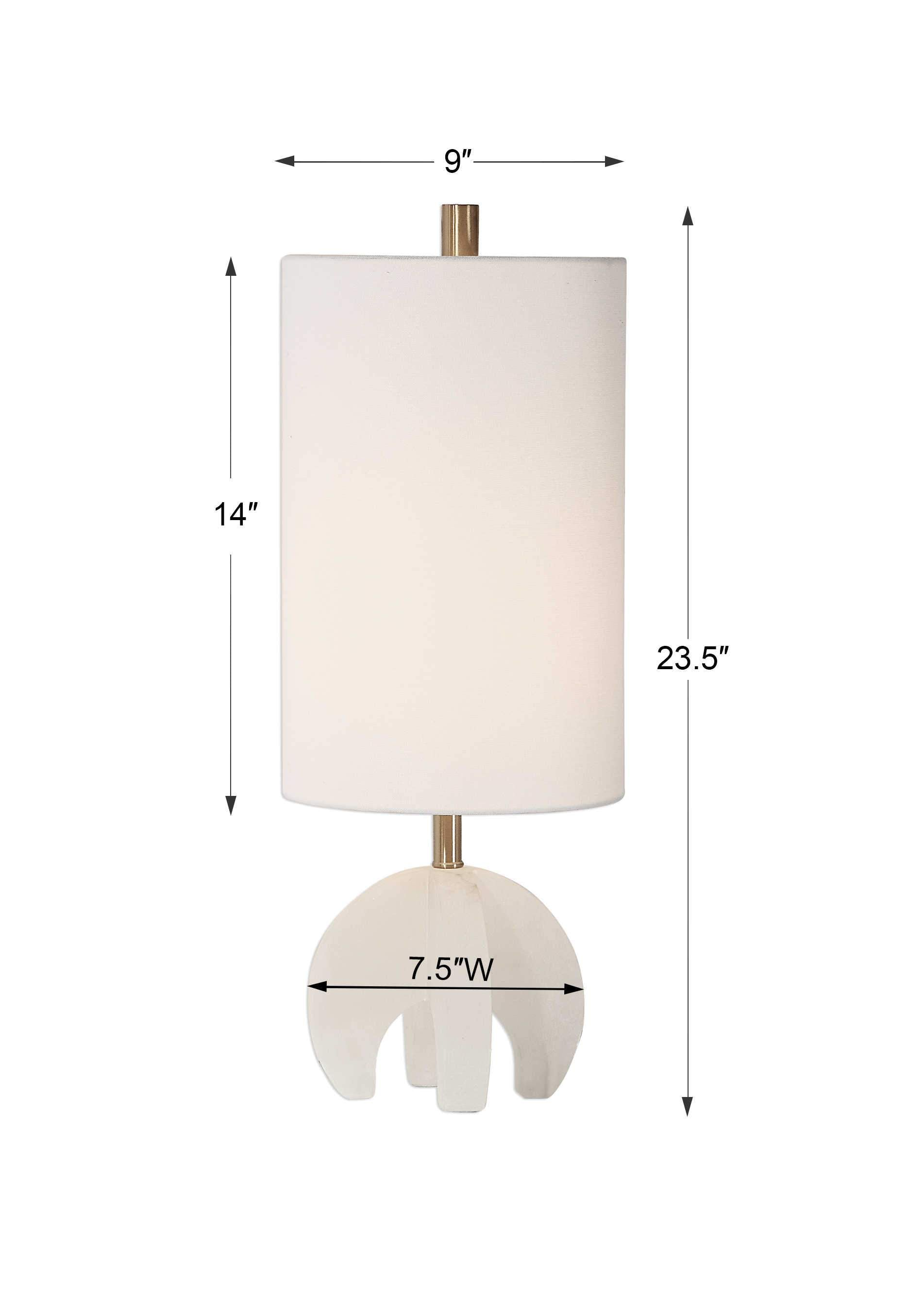 Uttermost Alanea Accent Lamp; AVAIL: MAY 21, 2021
