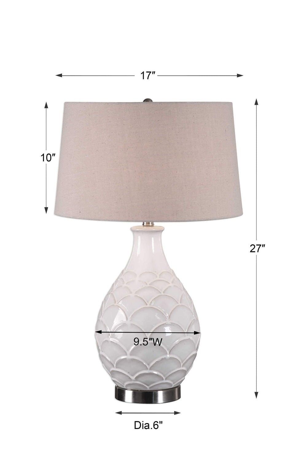 Uttermost Camellia Table Lamp