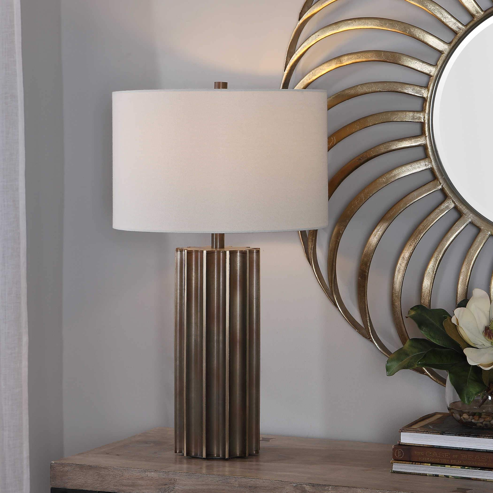 Uttermost Khalio Table Lamp; AVAIL: JUN 02, 2021