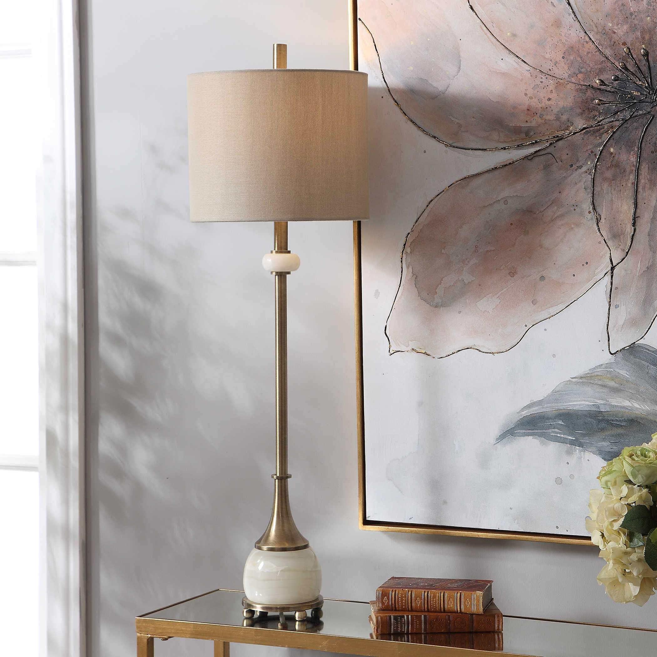 Uttermost Natania Buffet Lamp; EST SHIP: JUN 11, 2021