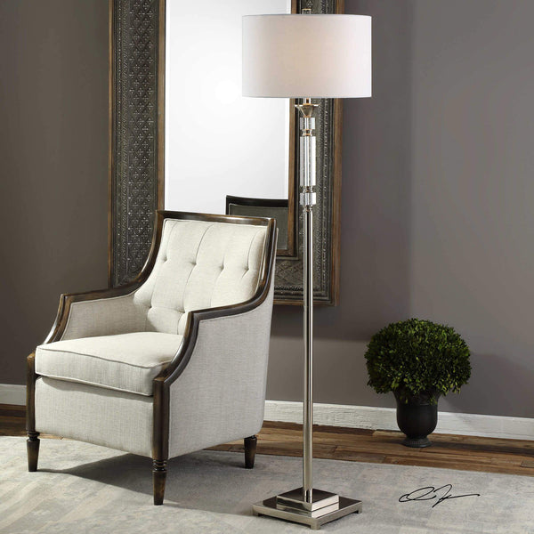 Uttermost Lighting Uttermost Volusia Floor Lamp