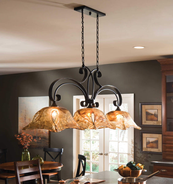 Uttermost Lighting Vetraio, 3-lt Kitchen Island