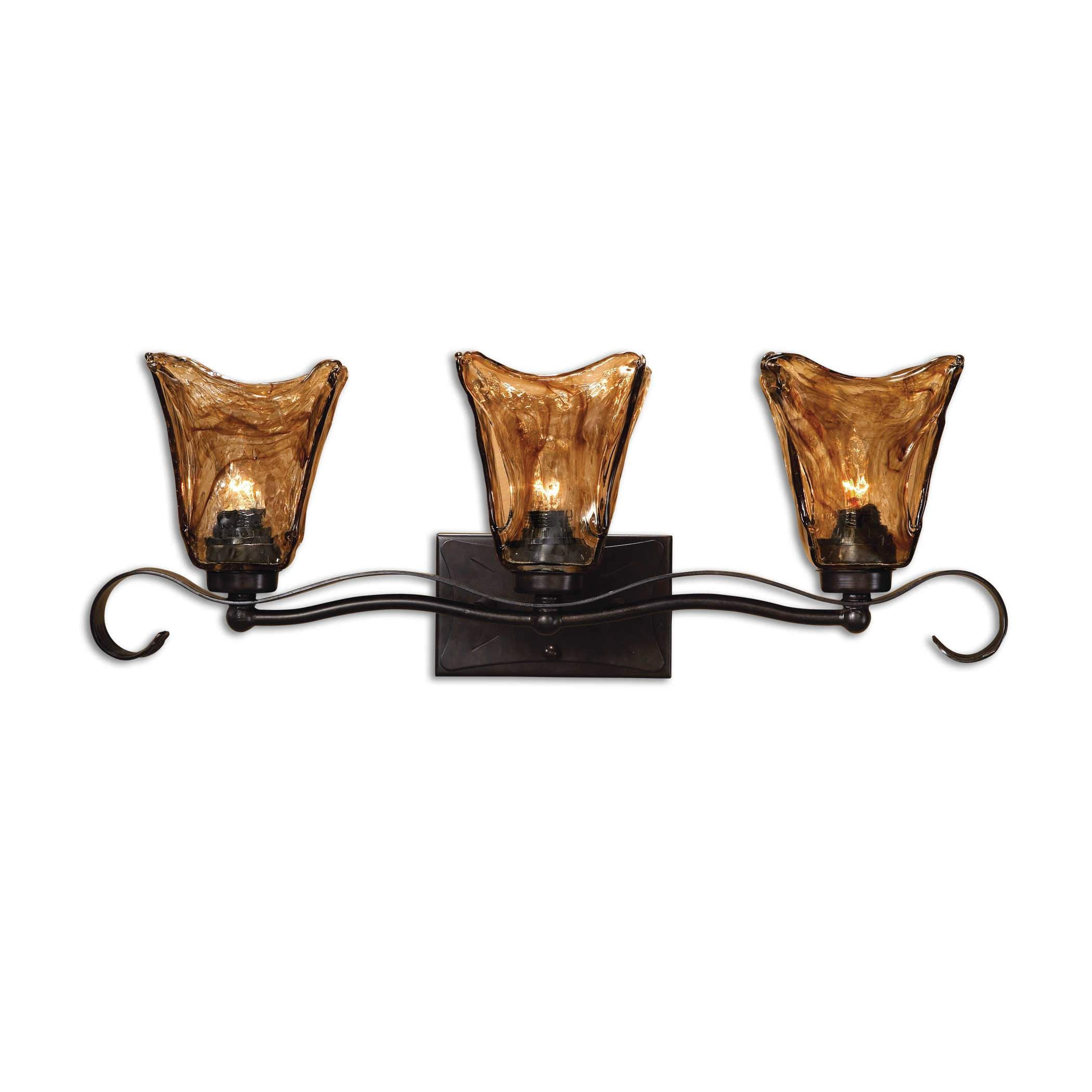 Uttermost Lighting Vetraio, 3 Lt Vanity Strip