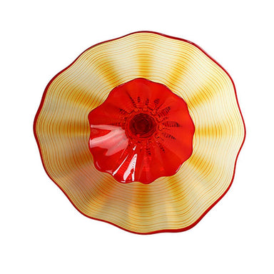 Viz Art Glass Home Blooming Lotus Wall Art Large by Viz Glass