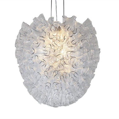 Viz Art Glass Lighting Dahlia Chandelier Clear Large by Viz Glass