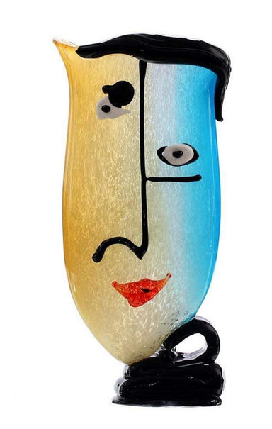Viz Art Glass Art Glass Faces Collection by Viz Glass