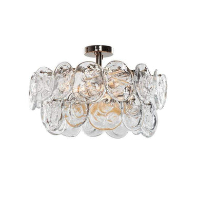 Viz Art Glass Lighting Prelude 5-Light Semi-Flush Mount