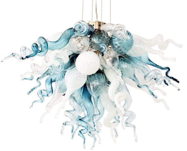 Viz Art Glass Lighting Viz Art Glass Cali Small Chandelier