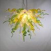 Viz Art Glass Lighting Viz Art Glass ColorSelect Large Lemon Lime Soda Chandelier