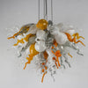 Viz Art Glass Lighting Viz Art Glass ColorSelect Large Platinum Citrus Chandelier