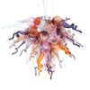 Viz Art Glass Lighting Viz Art Glass ColorSelect Twilight Large Chandelier