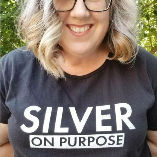 Silver on Purpose Short Sleeve Tee