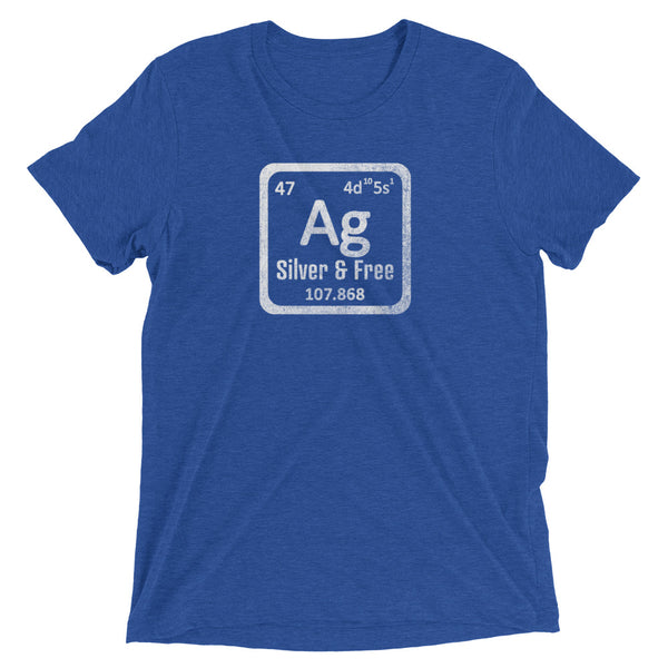 Silver Chemical Element Soft Tee