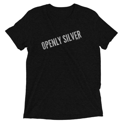 Openly Silver Super Soft Tee