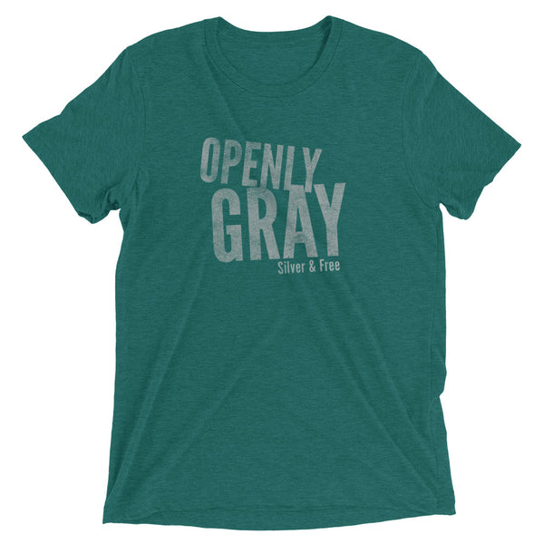 Openly Gray Super Soft Tee