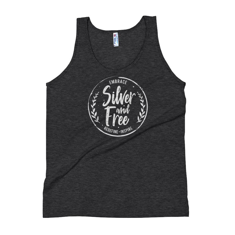 Tank Top for women who are growing out gray hair