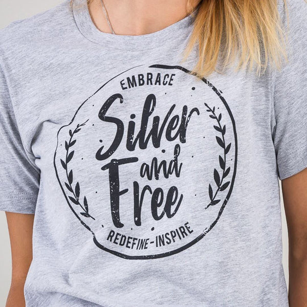 Silver & Free Classic Tee