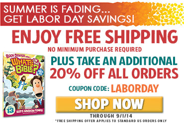 FREE SHIPPING plus 20% off everything with code LABORDAY