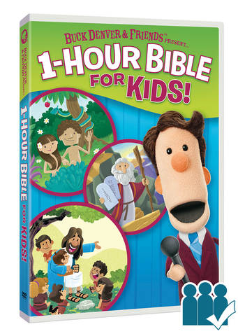1 Hour Bible - Group Viewing License