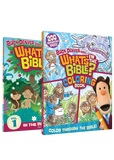 DVD 1 and What's In The Bible? Coloring Book