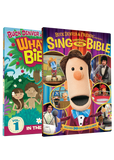 DVD 1 and Sing Through The Bible DVD