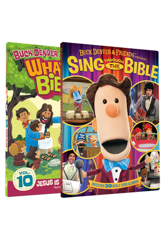 DVD 10 and Sing Through The Bible DVD