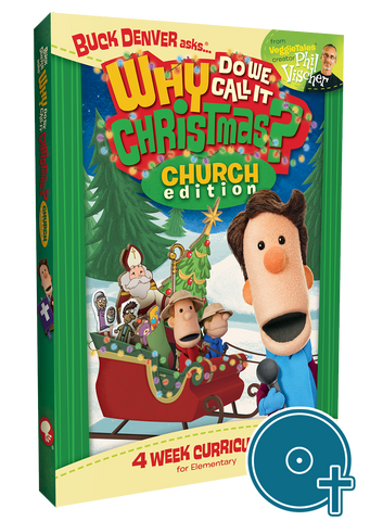 Why Do We Call It Christmas? Church Edition Classroom Disc