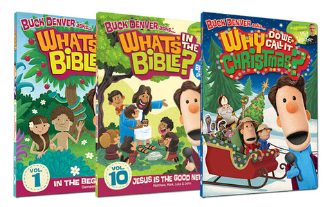 DVDs 1, 10, and Why Do We Call It Christmas?