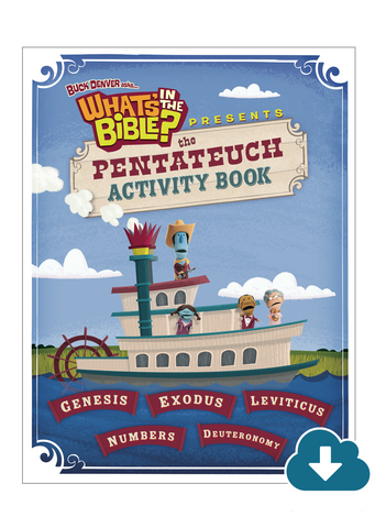 Pentateuch Activity Book - Digital Download