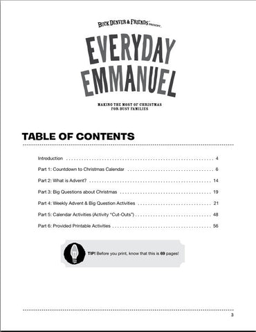 Everyday Emmanuel Bulk License