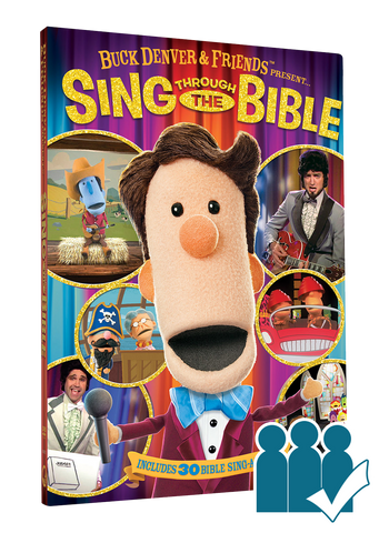 Sing Through The Bible - Group Viewing License