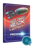 Galaxy Buck Preschool Curriculum Classroom Disc