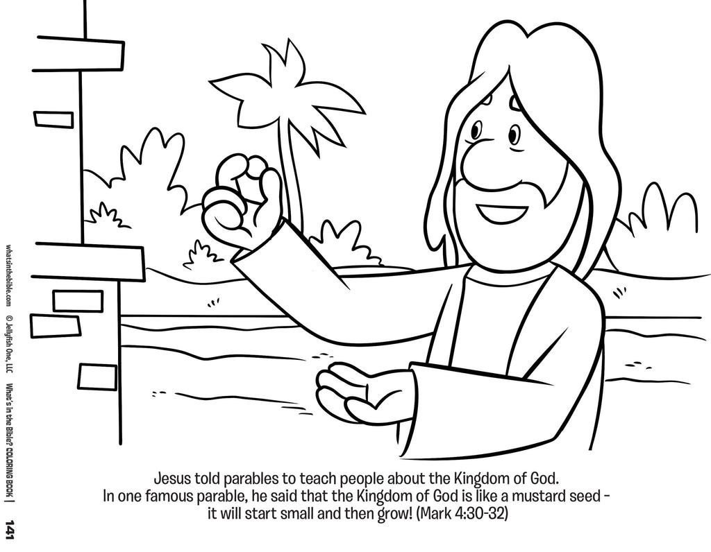 Whats In The Bible Whats In The Bible Coloring Book