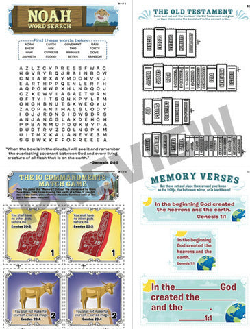 Pentateuch Activity Book Bulk License