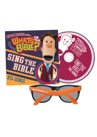 VBS CD and Summer Fun Sunglasses