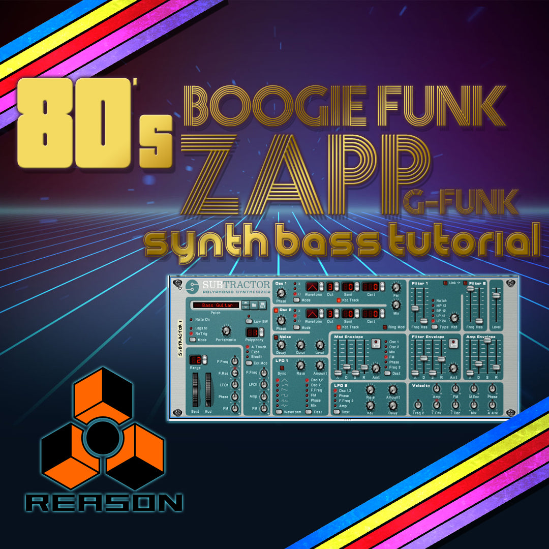 Reason tutorial - Boogie Funk Bass