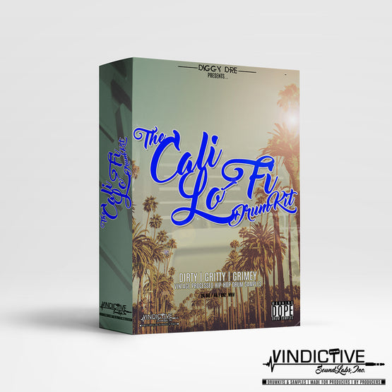 THE CALI LO-FI DRUM KIT