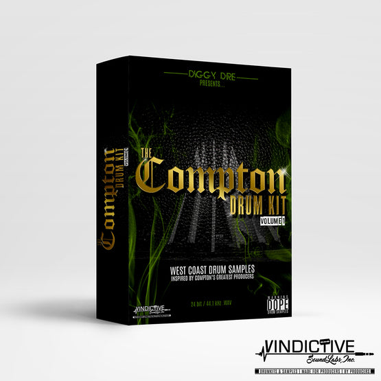 THE COMPTON DRUM KIT VOL.1