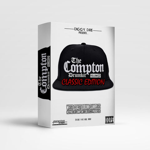 THE COMPTON DRUM KIT VOL.2 (CLASSIC EDITION)