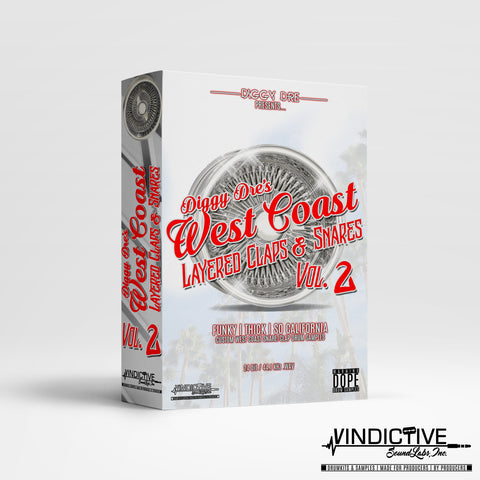 DIGGY DRE's WEST COAST LAYERED CLAPS & SNARES VOL. 2