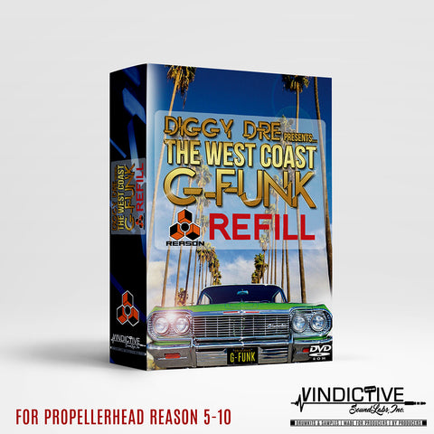 THE WEST COAST G-FUNK (REASON REFILL)