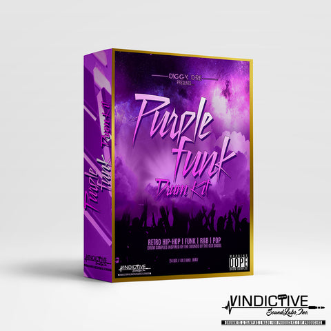 PURPLE FUNK DRUM KIT