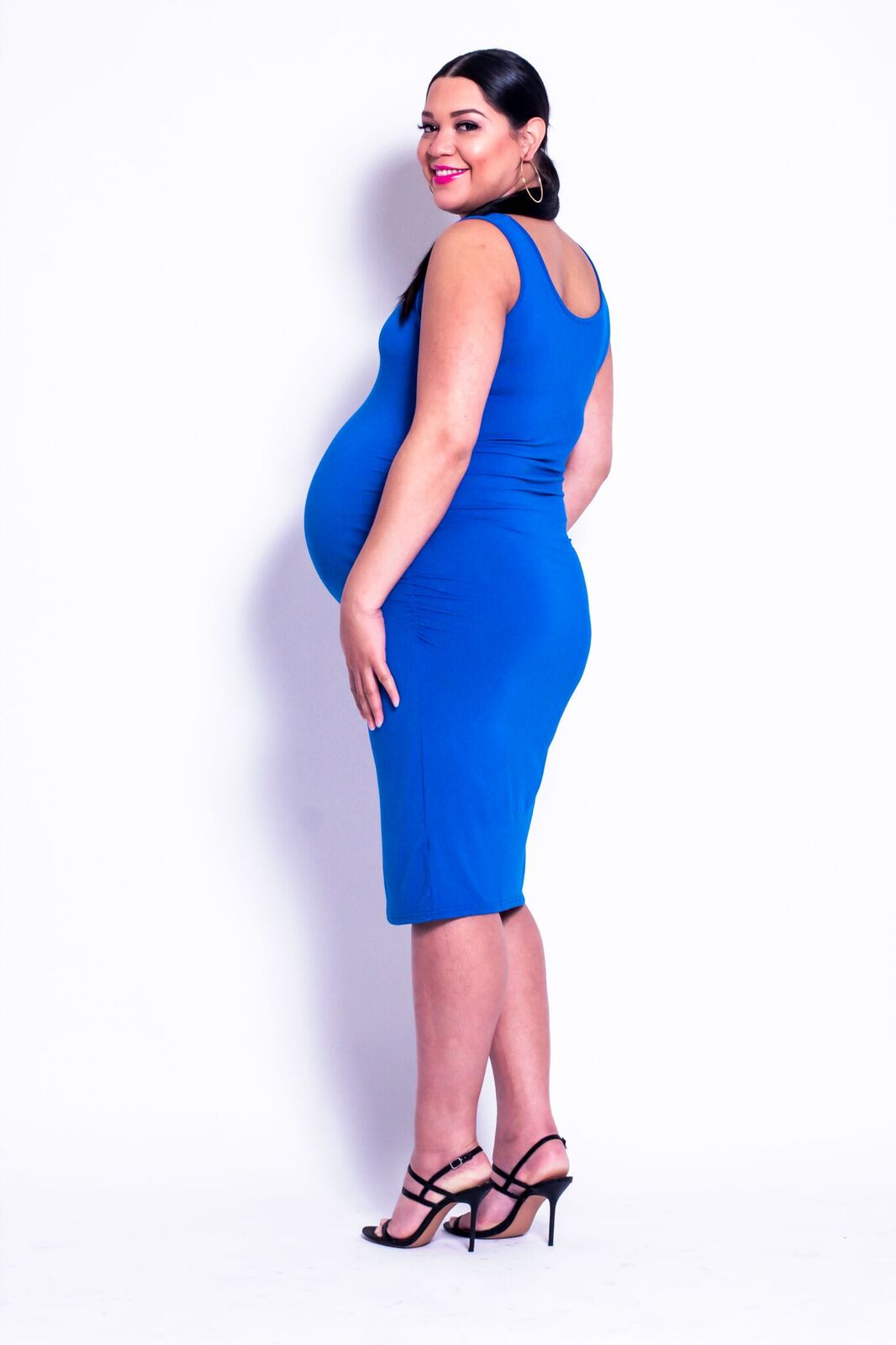 Blue Mama Sleeveless Dress