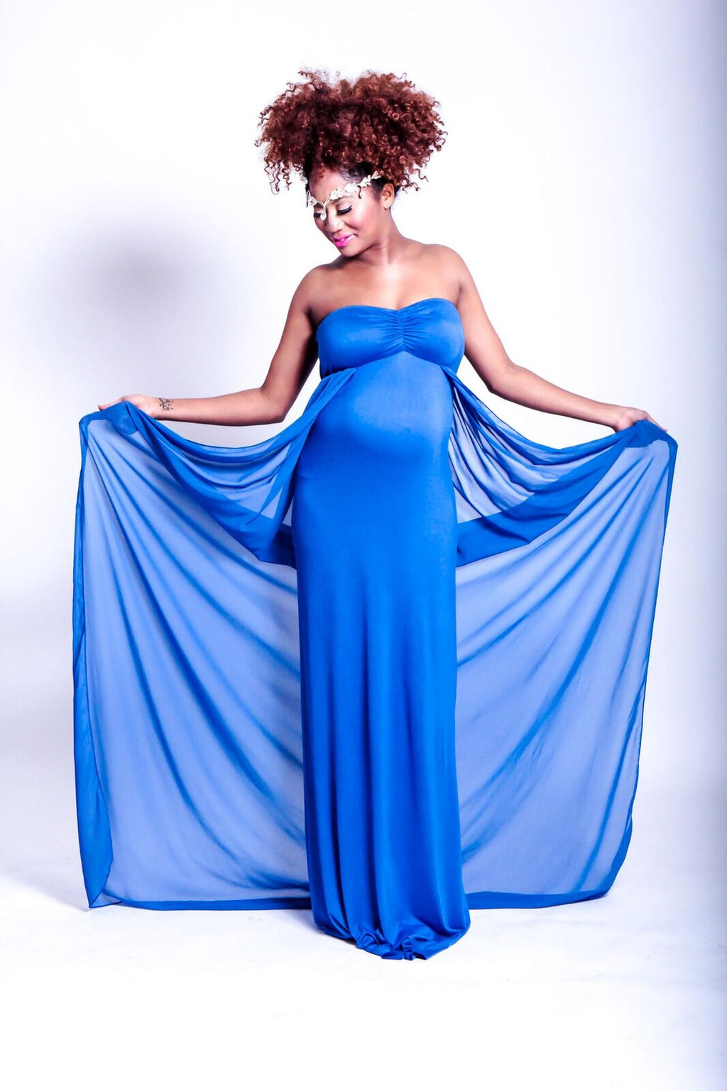 The Blue Goddess Gown