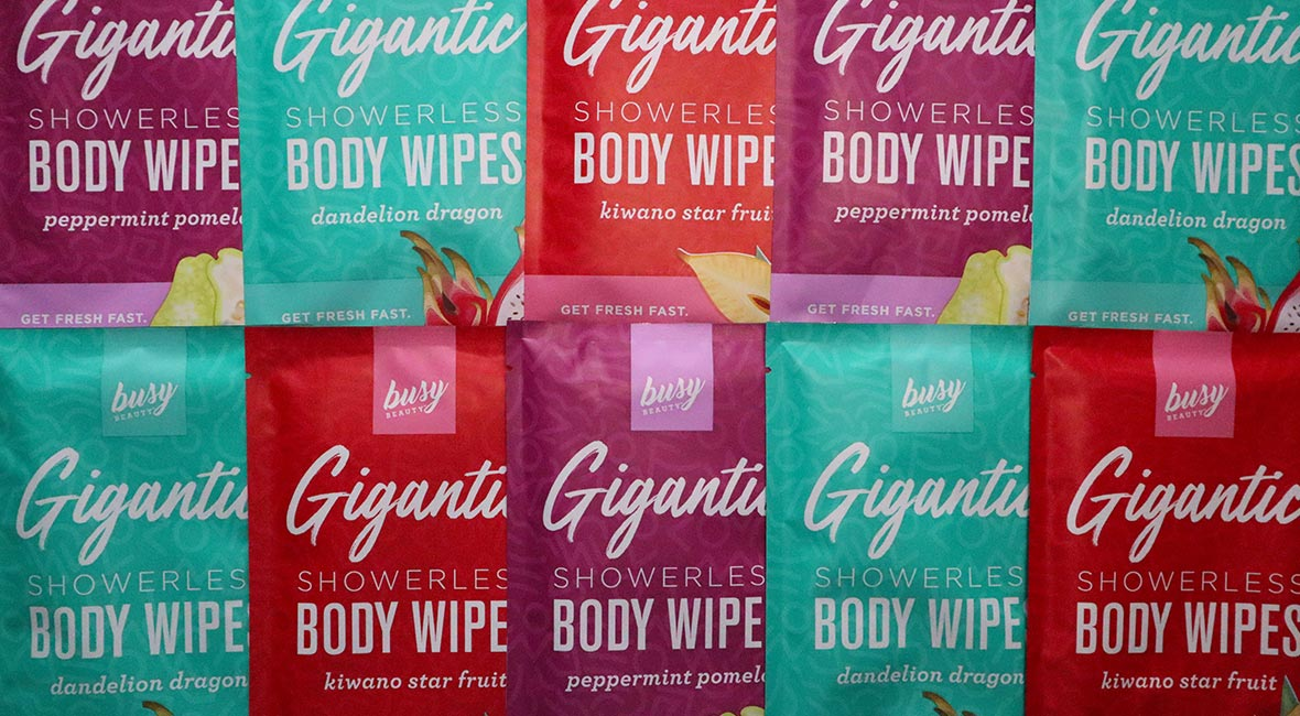Extra Large Body Wipes Body Wipes to clean your entire body