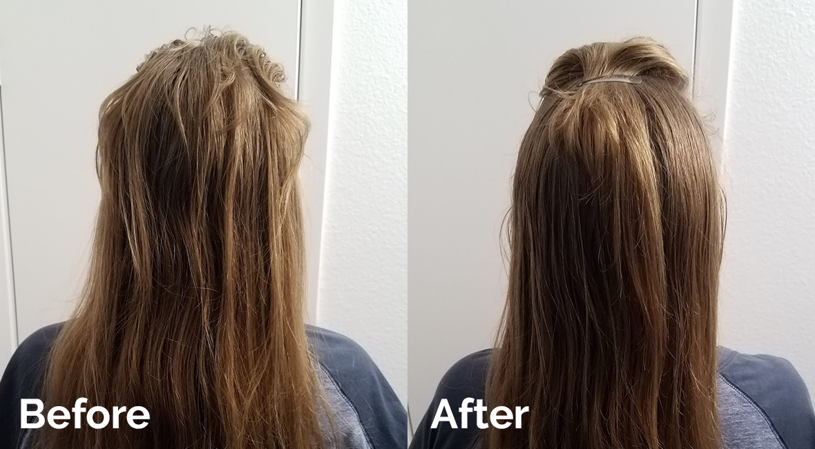 Busy Beauty Dry Shampoo before after review